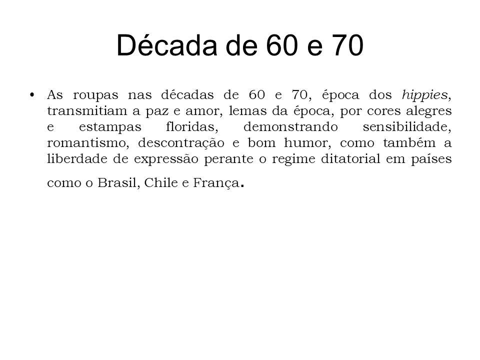 Década de 60 e 70