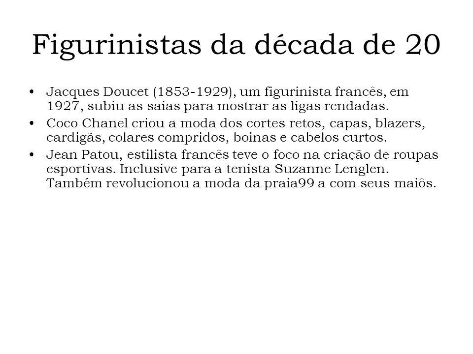 Figurinistas da década de 20
