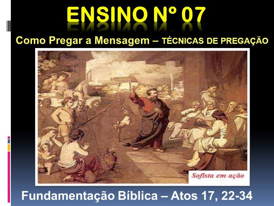 Fundamentação Bíblica – Atos 17, 22-34