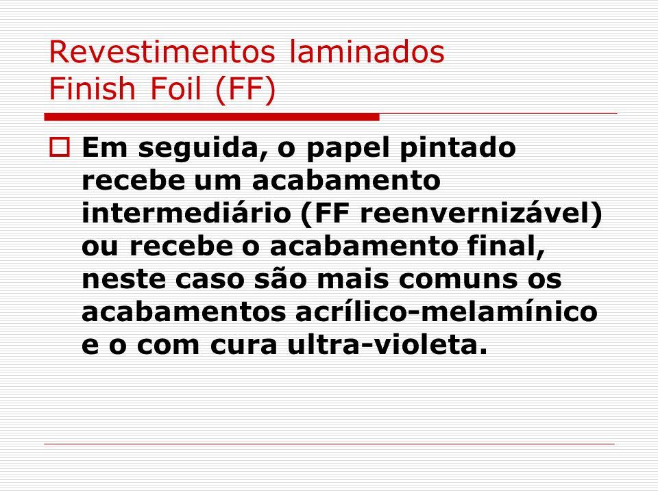 Revestimentos laminados Finish Foil (FF)