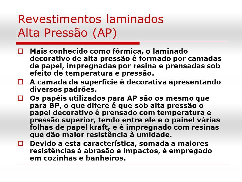 Revestimentos laminados Alta Pressão (AP)