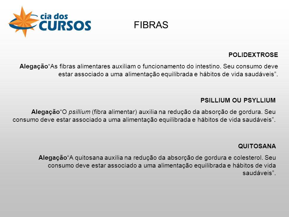 FIBRAS POLIDEXTROSE.