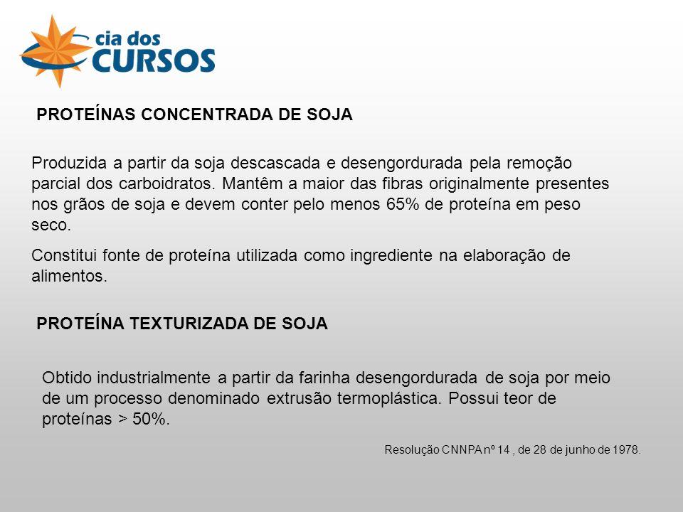 PROTEÍNAS CONCENTRADA DE SOJA
