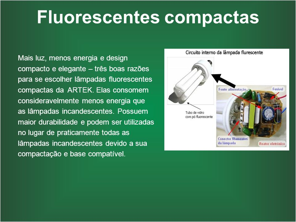Fluorescentes compactas