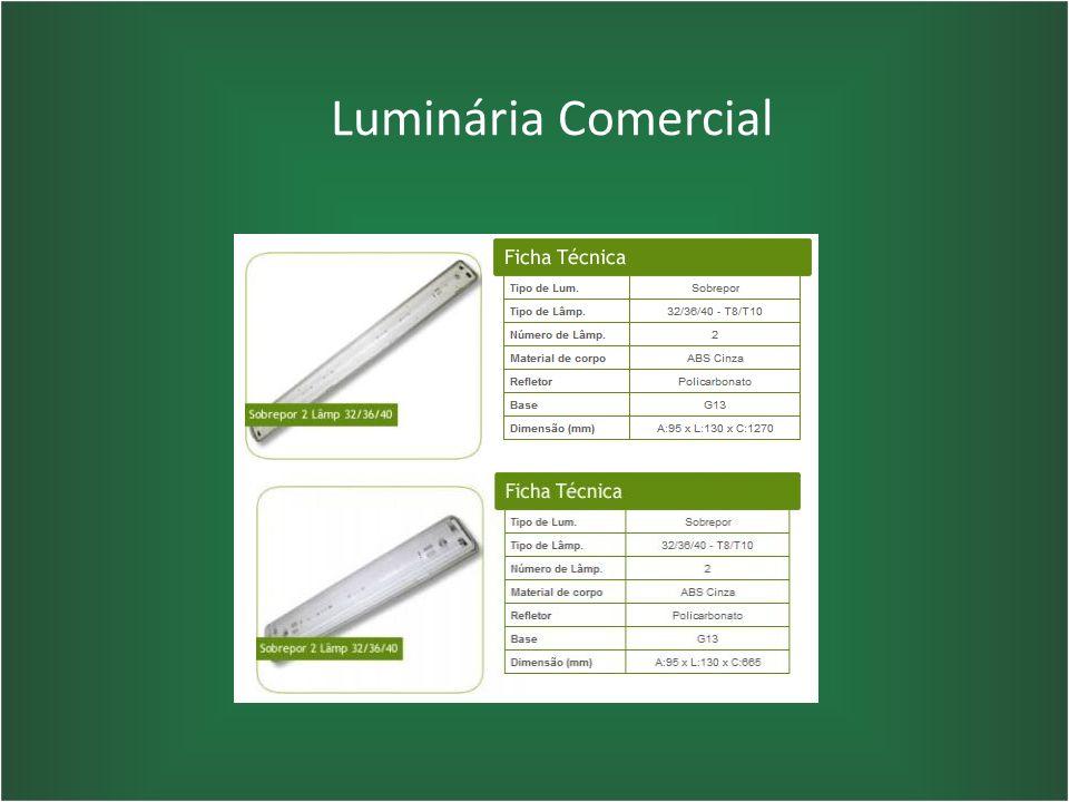 Luminária Comercial