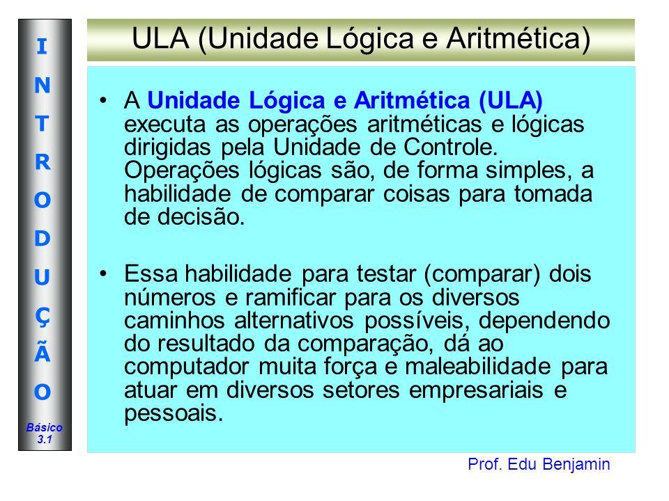 ULA (Unidade Lógica e Aritmética)