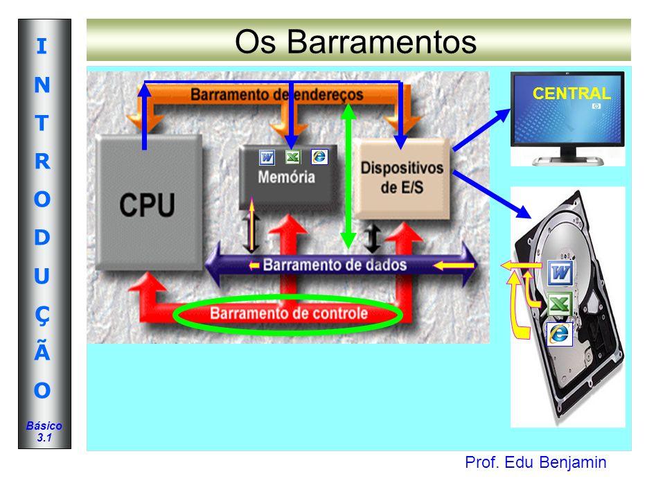 Os Barramentos CENTRAL