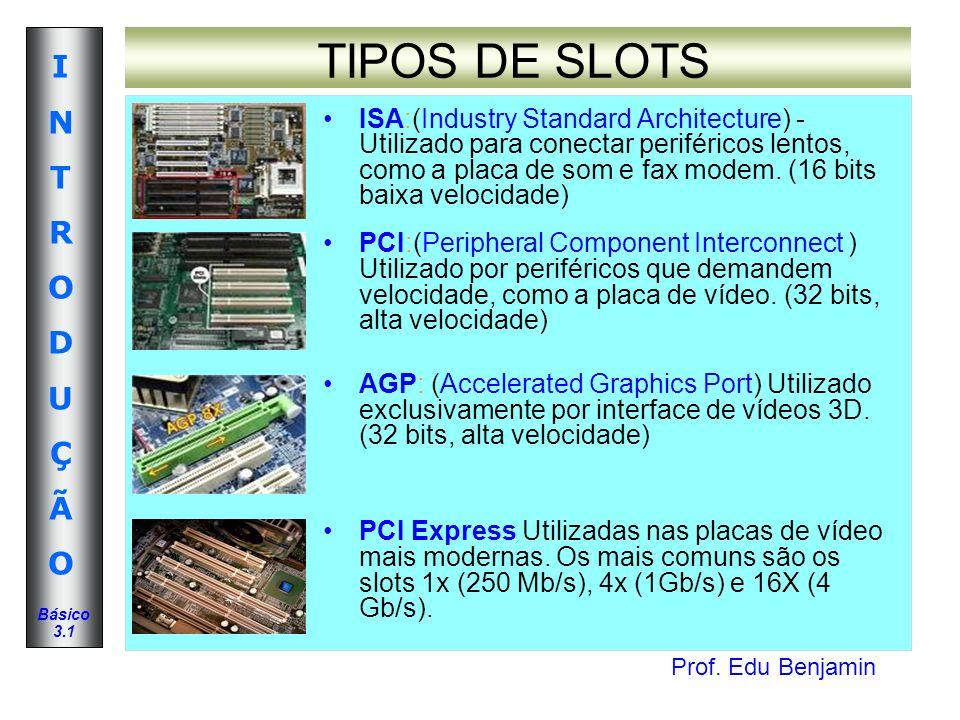 TIPOS DE SLOTS