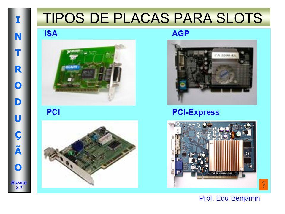 TIPOS DE PLACAS PARA SLOTS