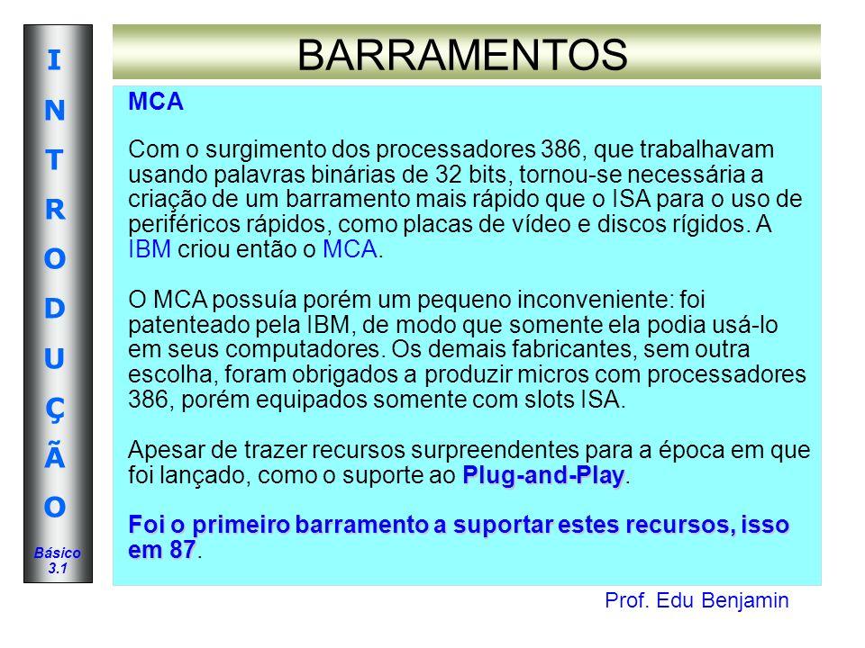 BARRAMENTOS MCA.