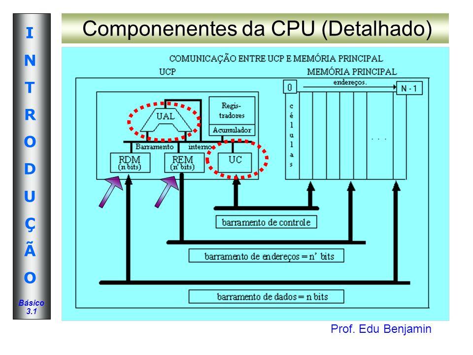 Componenentes da CPU (Detalhado)