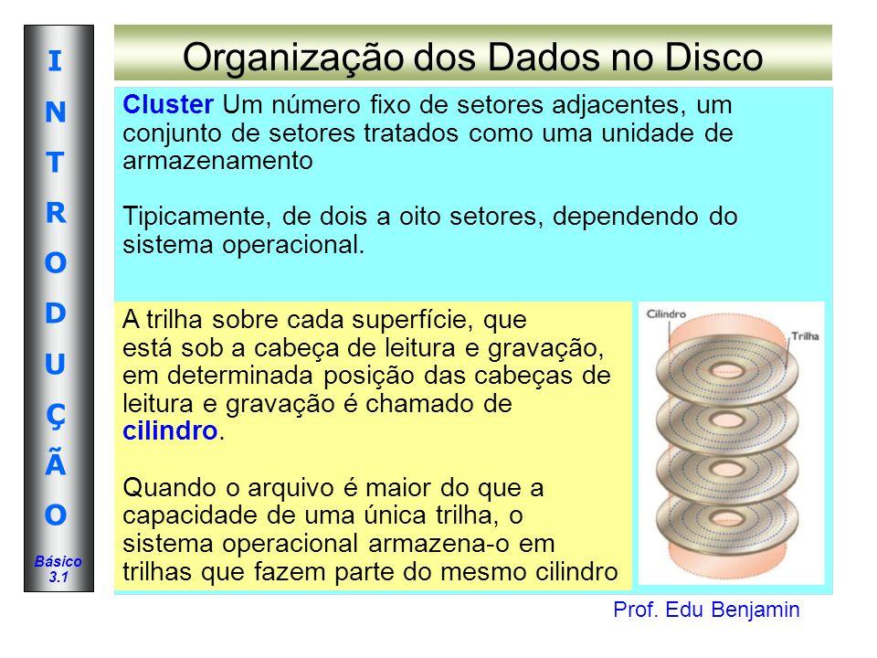 Organização dos Dados no Disco