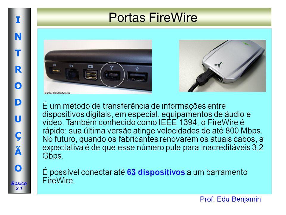 Portas FireWire