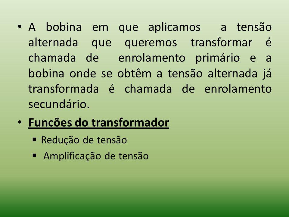 Funcões do transformador