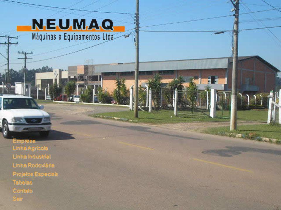 Empresa Linha Agrícola Linha Industrial Linha Rodoviária Projetos Especiais Tabelas Contato Sair