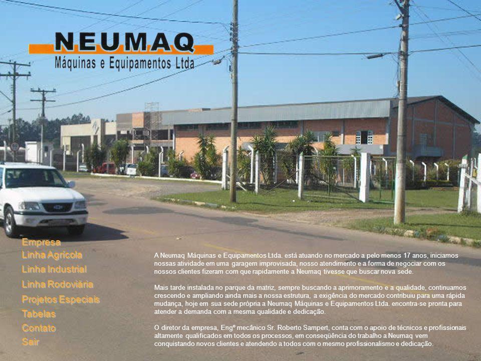 Empresa Linha Agrícola Linha Industrial Linha Rodoviária