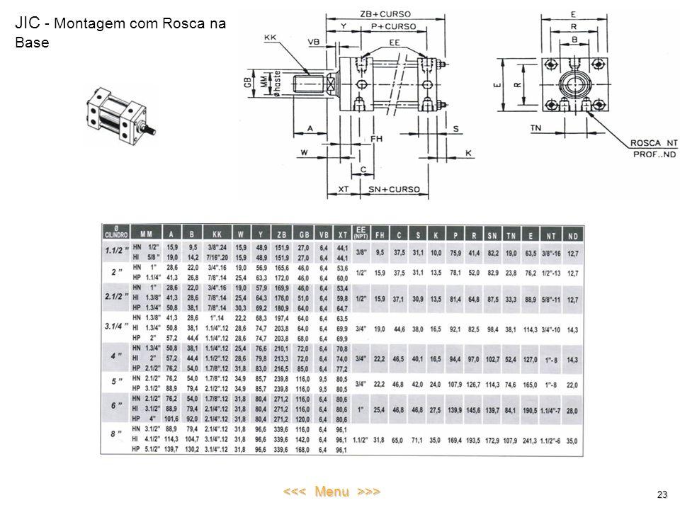 JIC - Montagem com Rosca na Base