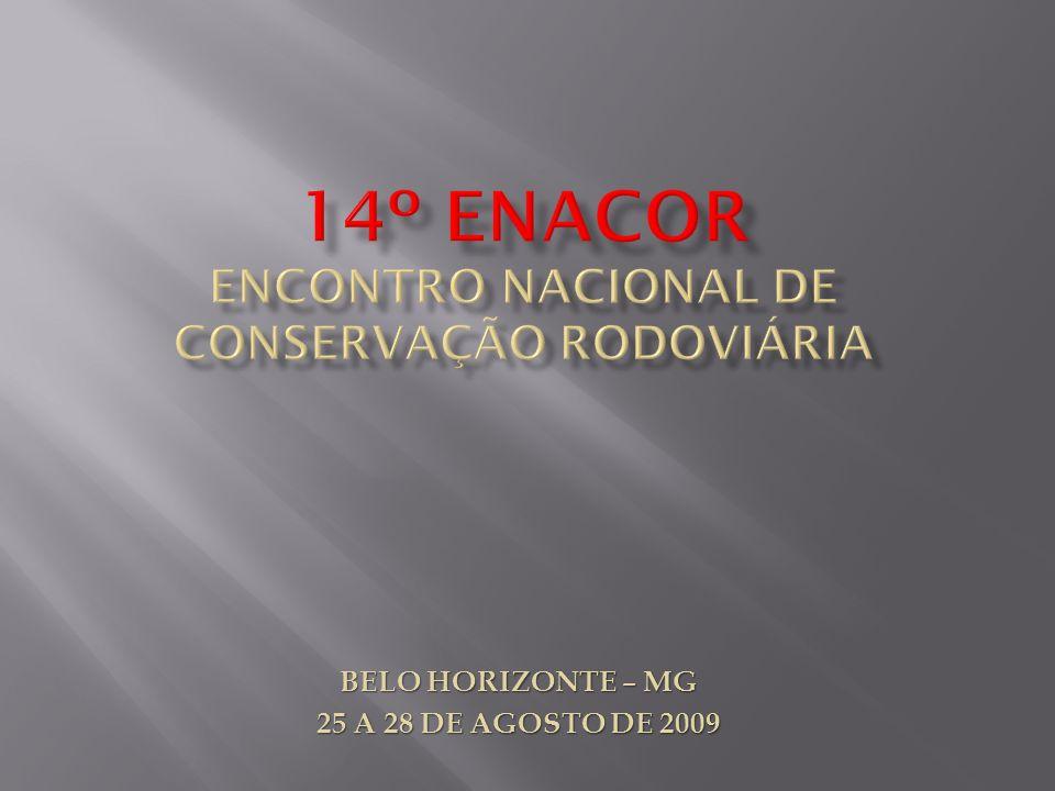 14º enacor encontro nacional de conservação rodoviária
