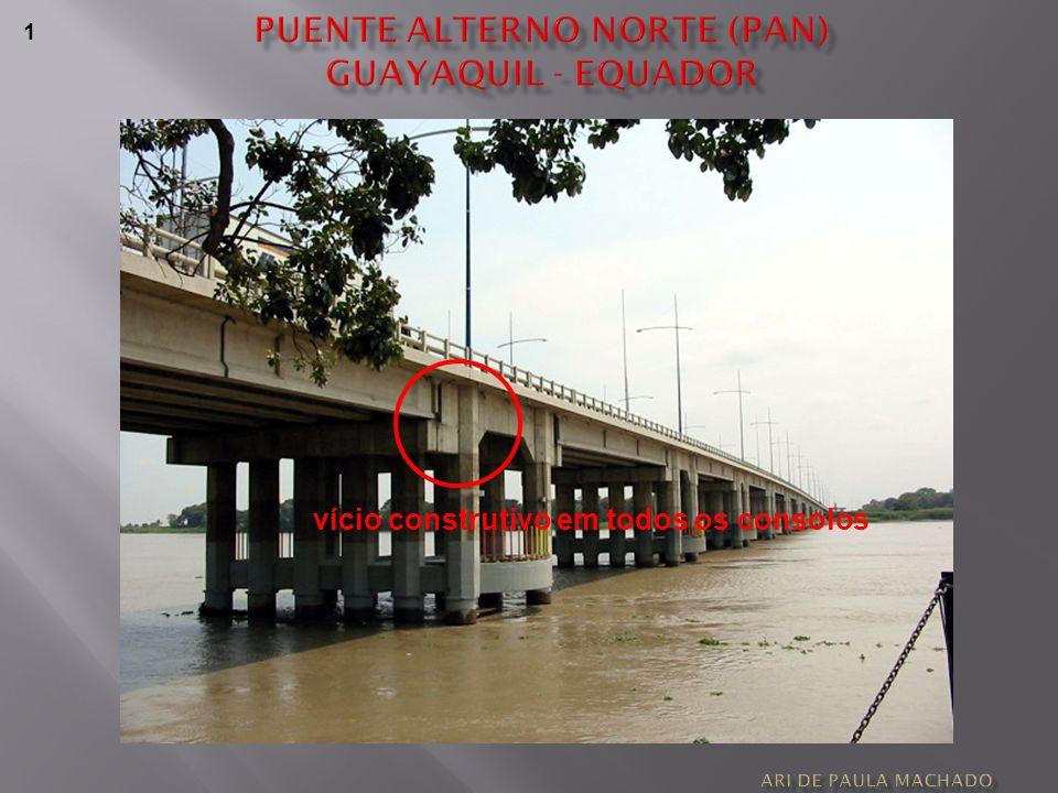 Puente alterno norte (pan) guayaquil - equador