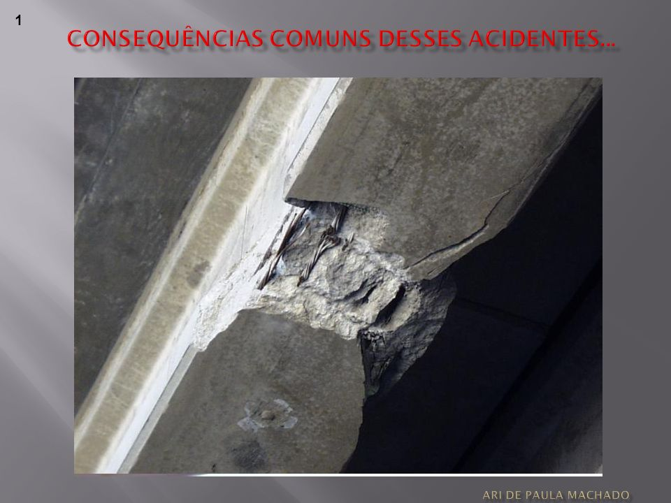 CONSEQUÊNCIAS COMUNS DESSES ACIDENTES...
