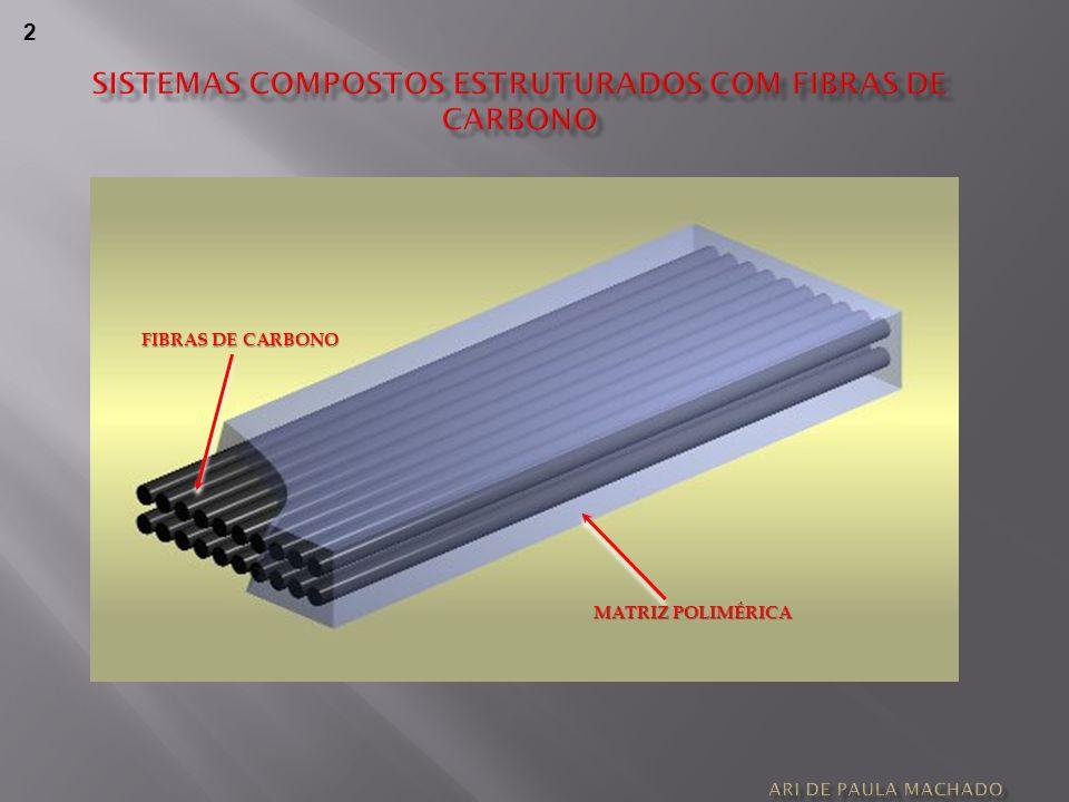 Sistemas compostos estruturados com fibras de carbono