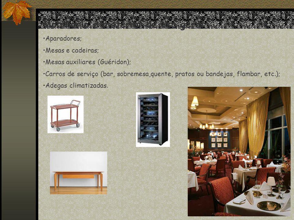 Mobiliário e material de uso geral