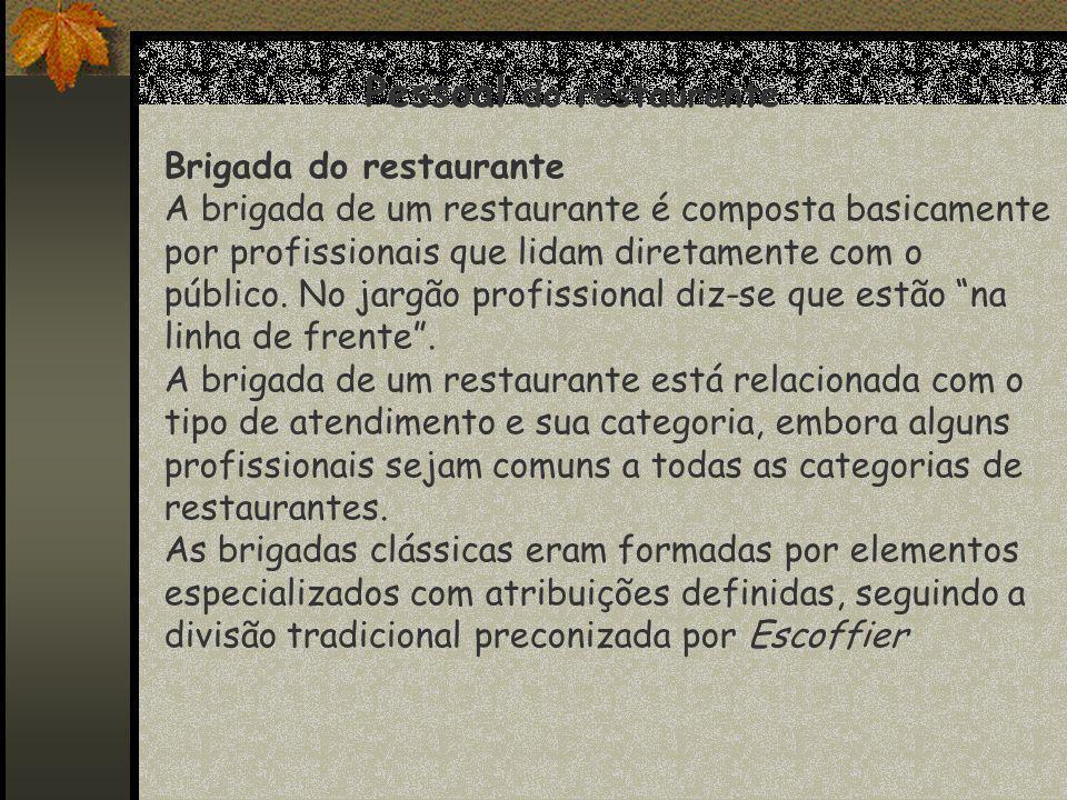 Pessoal do restaurante