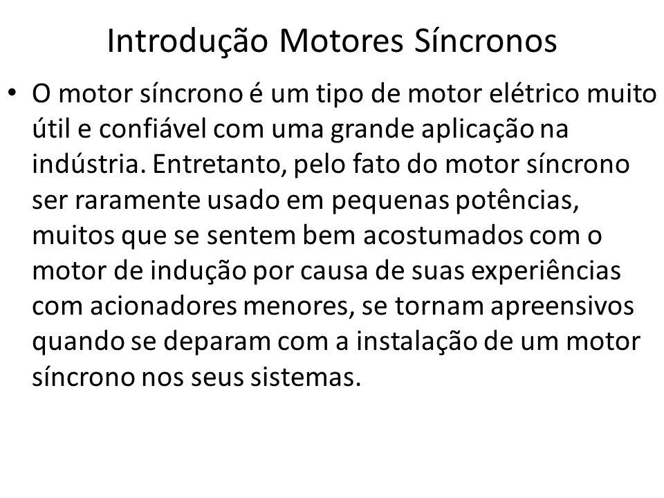 Introdução Motores Síncronos