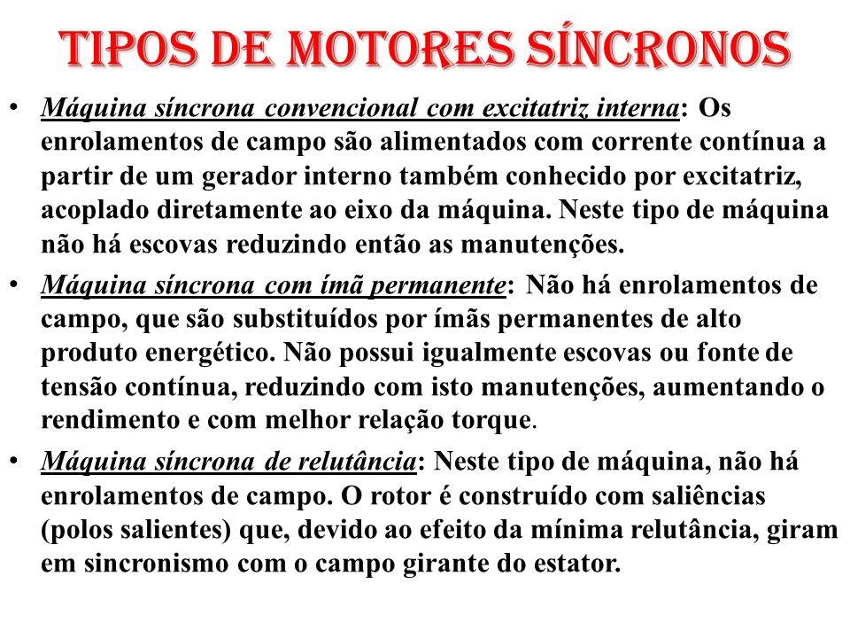 Tipos de Motores síncronos