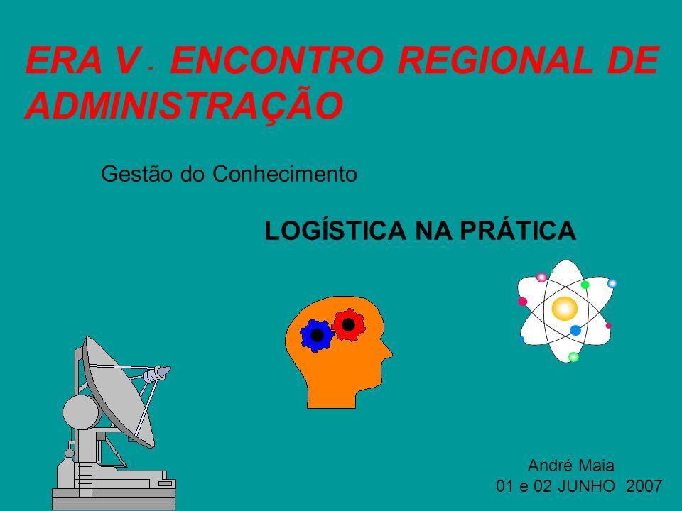 ERA V - ENCONTRO REGIONAL DE ADMINISTRAÇÃO