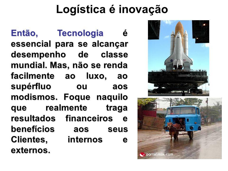 Logística é inovação