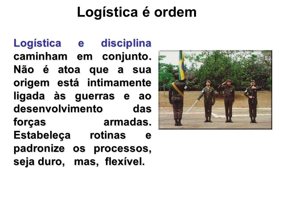 Logística é ordem