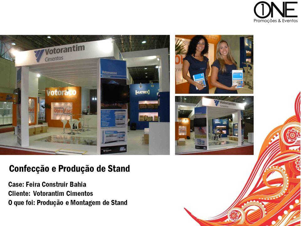Confecção e Produção de Stand