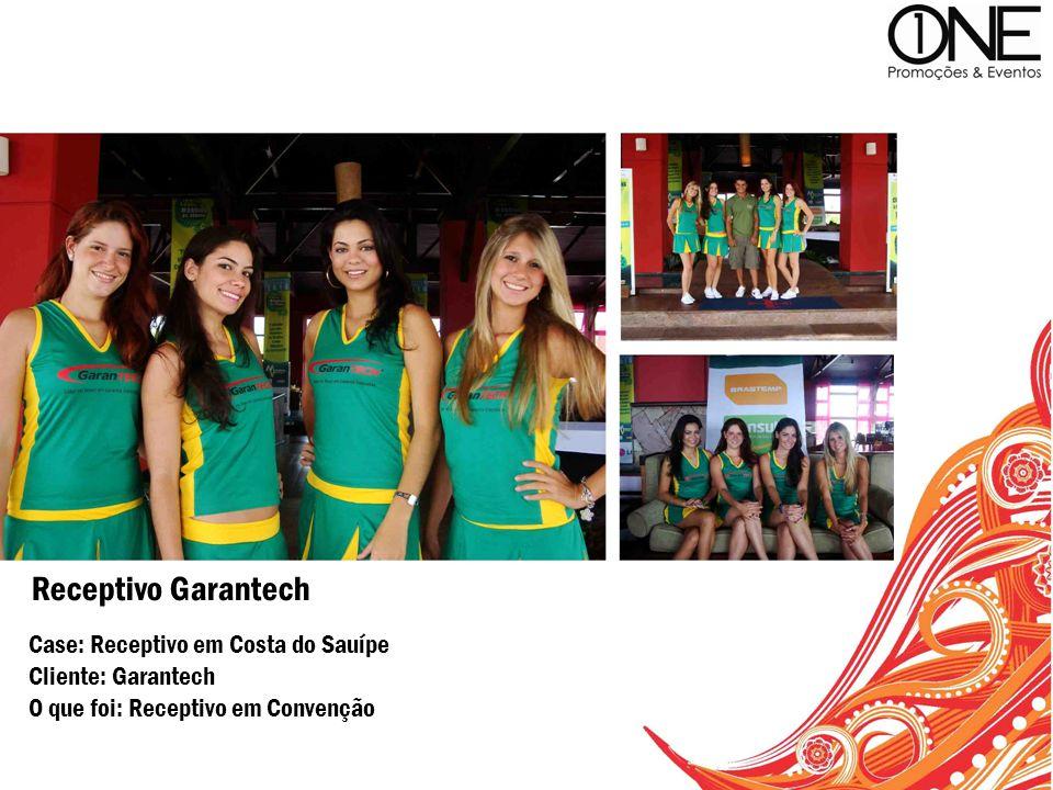 Receptivo Garantech Case: Receptivo em Costa do Sauípe