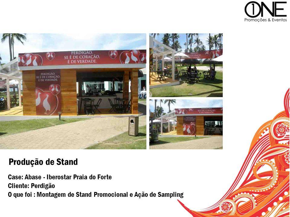 Produção de Stand Case: Abase - Iberostar Praia do Forte