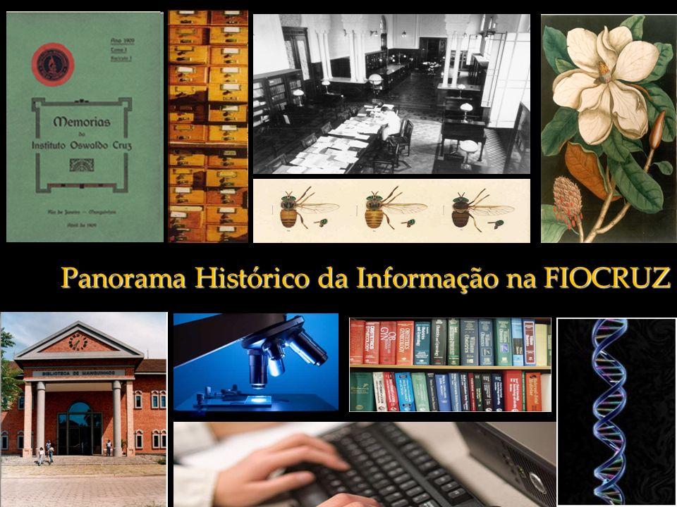 Panorama Histórico da Informação na FIOCRUZ
