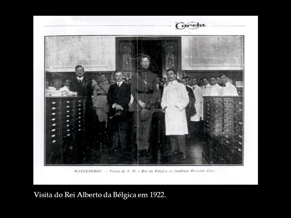 Visita do Rei Alberto da Bélgica em 1922.