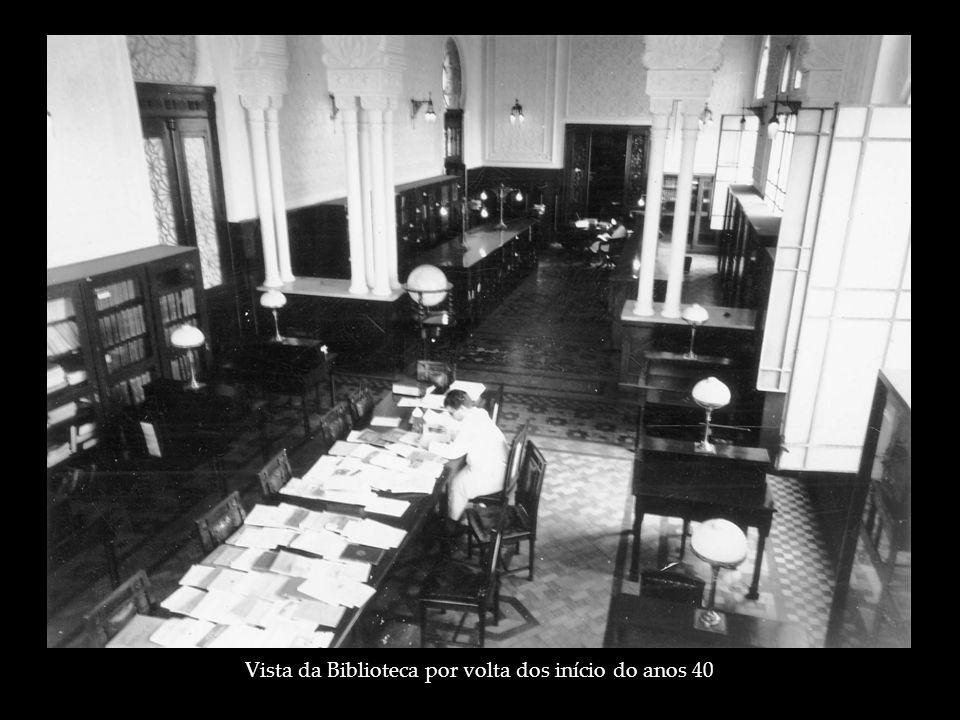 Vista da Biblioteca por volta dos início do anos 40