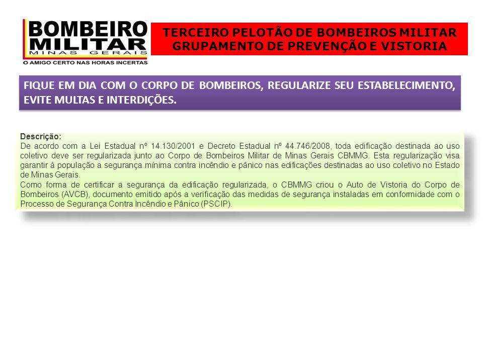 TERCEIRO PELOTÃO DE BOMBEIROS MILITAR