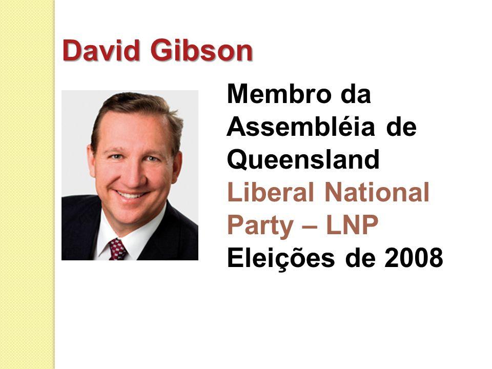 David Gibson Membro da Assembléia de Queensland