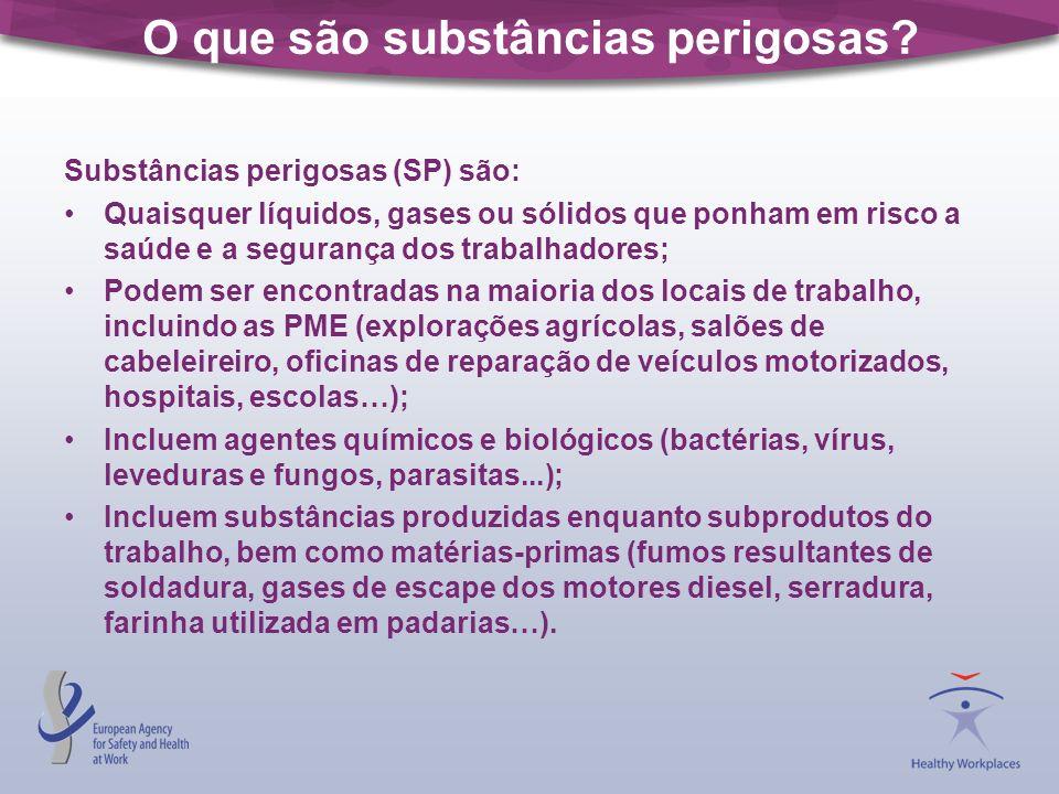 O que são substâncias perigosas