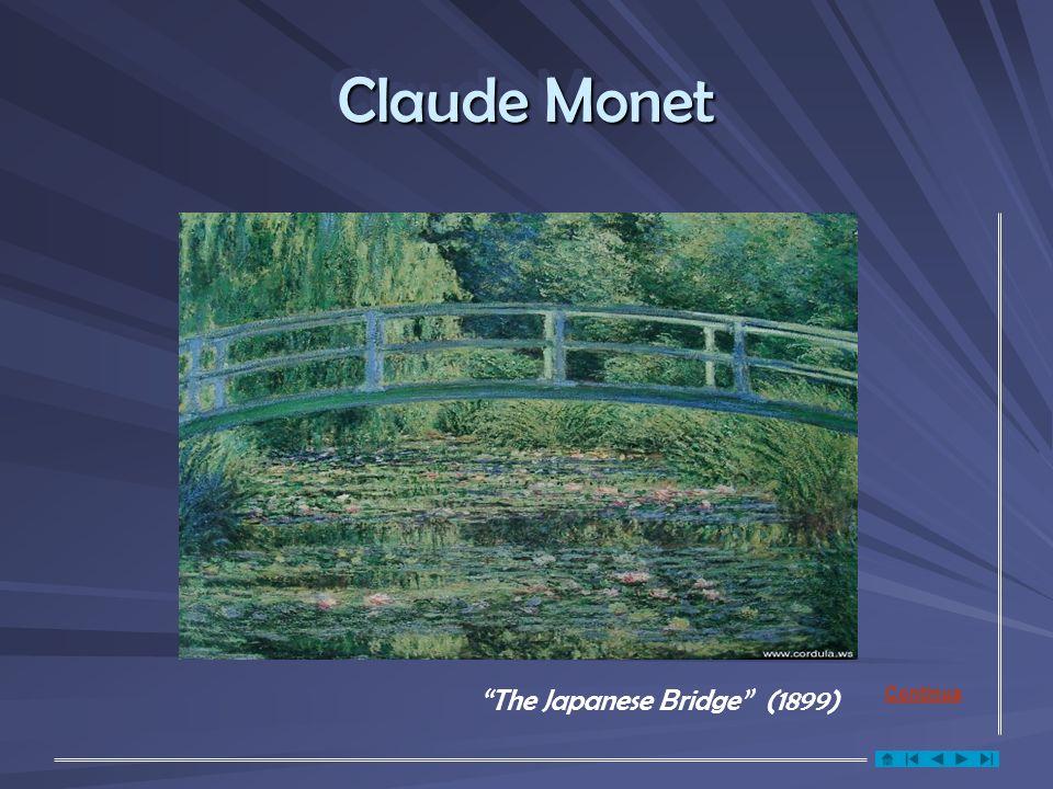 Claude Monet The Japanese Bridge (1899) Continua