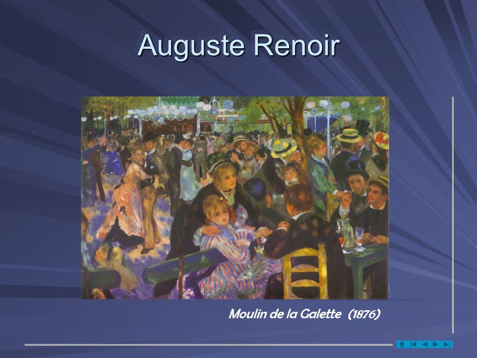 Auguste Renoir Moulin de la Galette (1876)