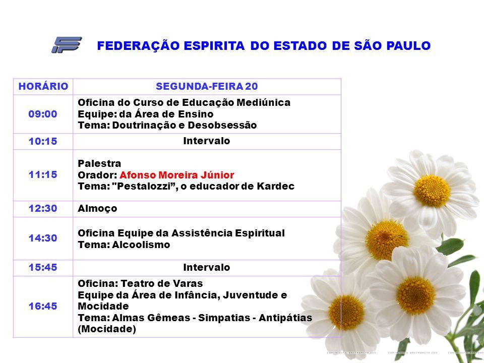 FEDERAÇÃO ESPIRITA DO ESTADO DE SÃO PAULO