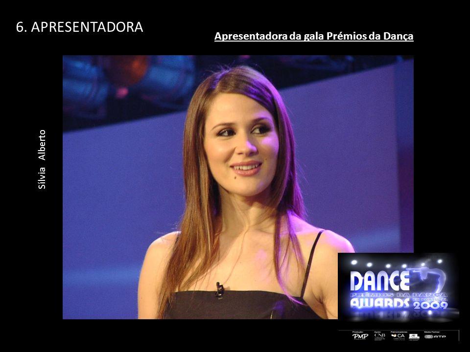 Apresentadora da gala Prémios da Dança