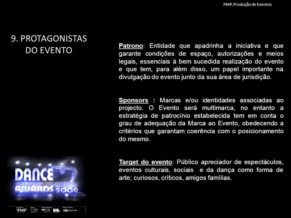 9. PROTAGONISTAS DO EVENTO