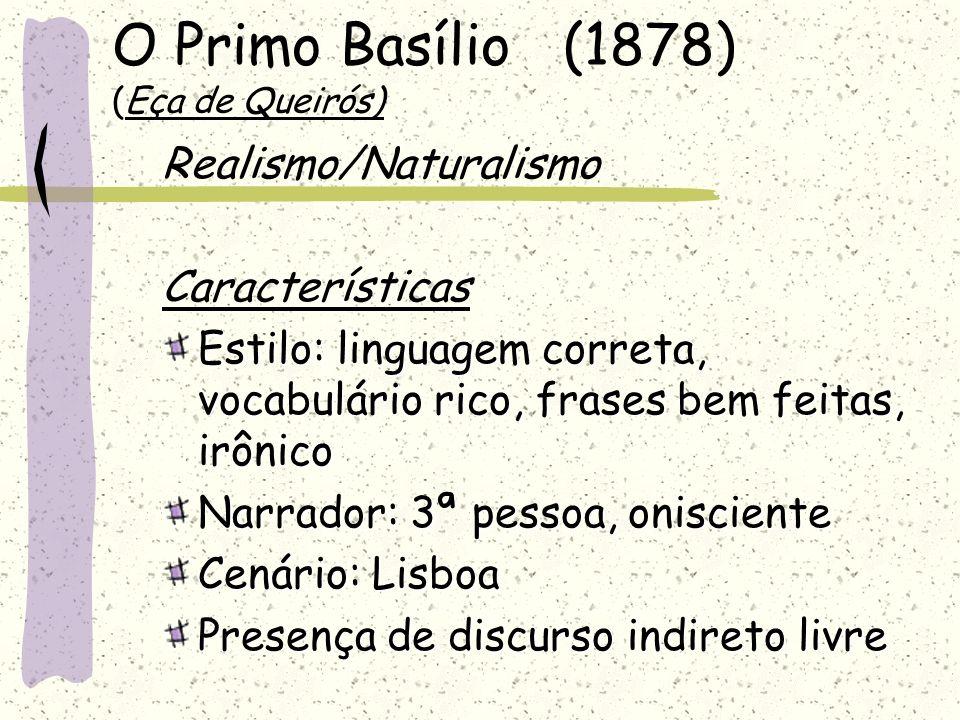 O Primo Basílio (1878) (Eça de Queirós)