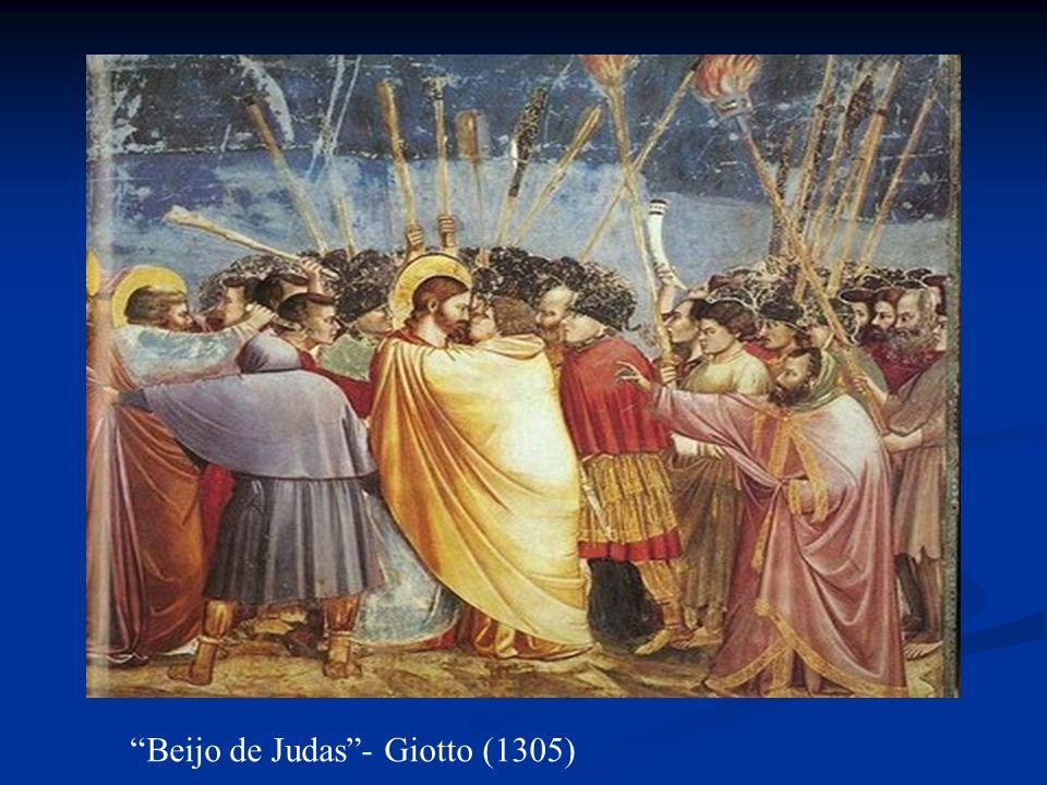 Beijo de Judas - Giotto (1305)