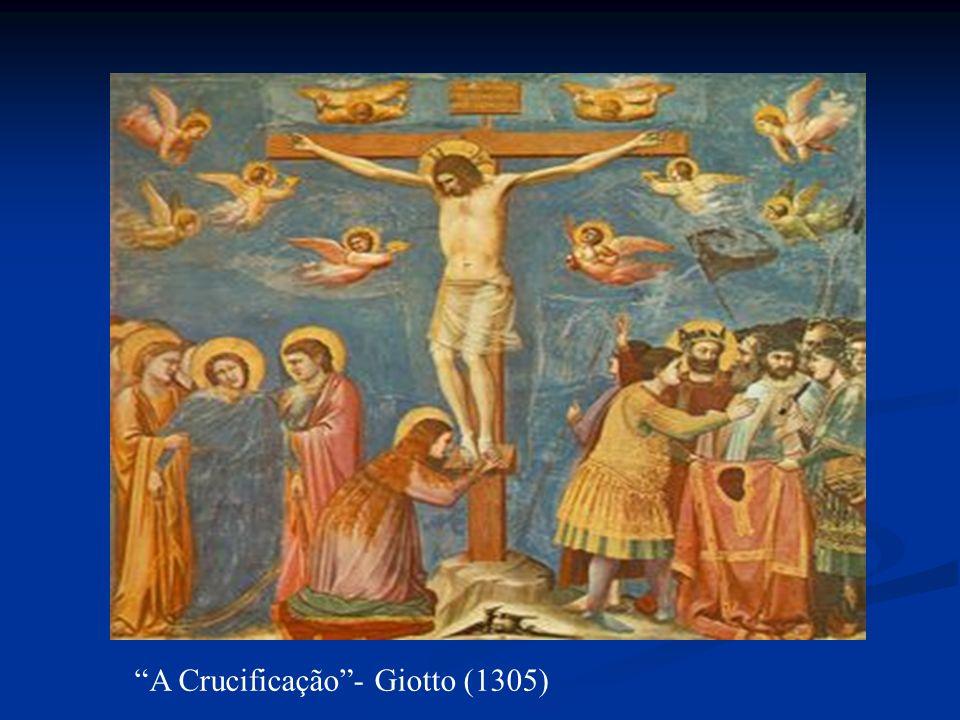 A Crucificação - Giotto (1305)