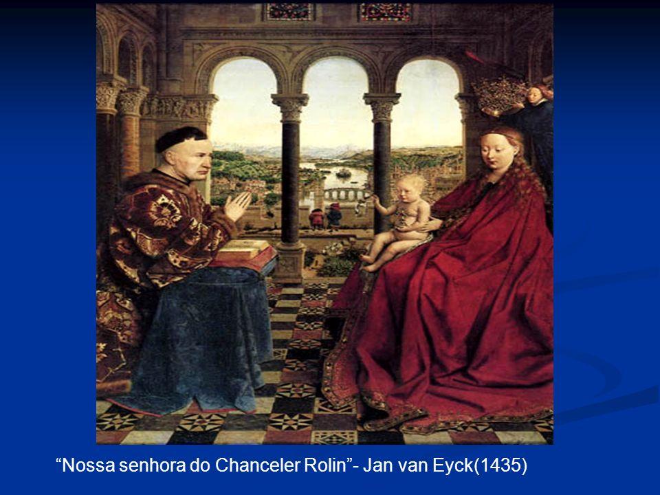 Nossa senhora do Chanceler Rolin - Jan van Eyck(1435)